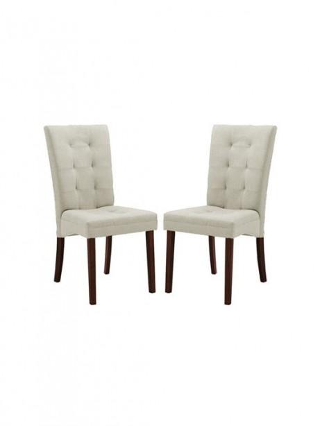 Quinn Beige Fabric Dining Chair 461x614