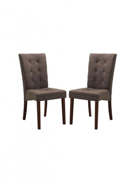 Quinn Brown Fabric Dining Chair 461x614