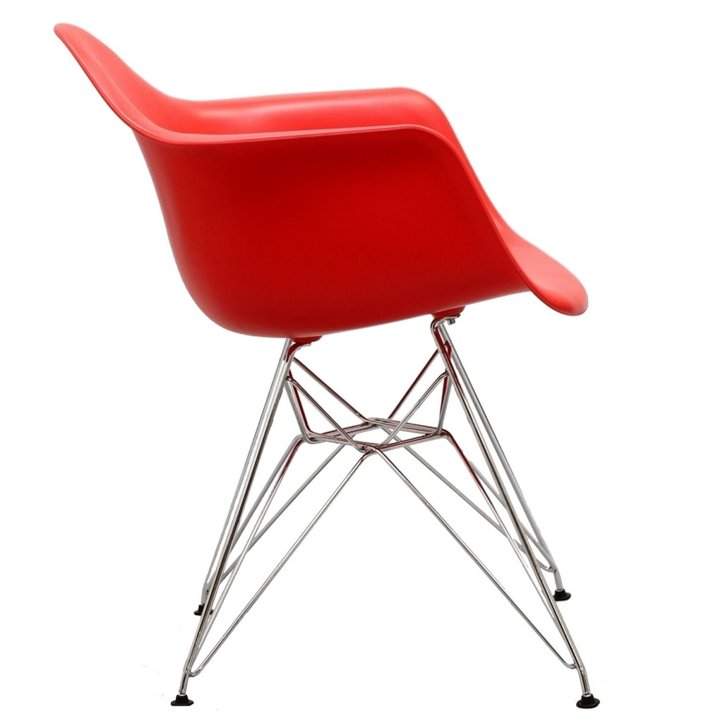 Red Ceremony Wire Armchair 2