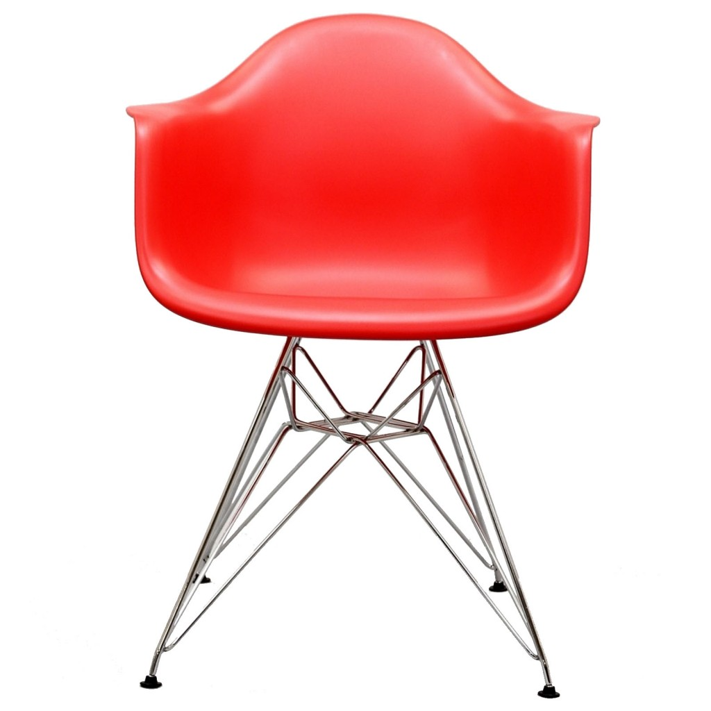Red Ceremony Wire Armchair 3
