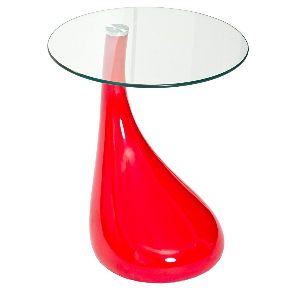 Red Droplet Coffee Table