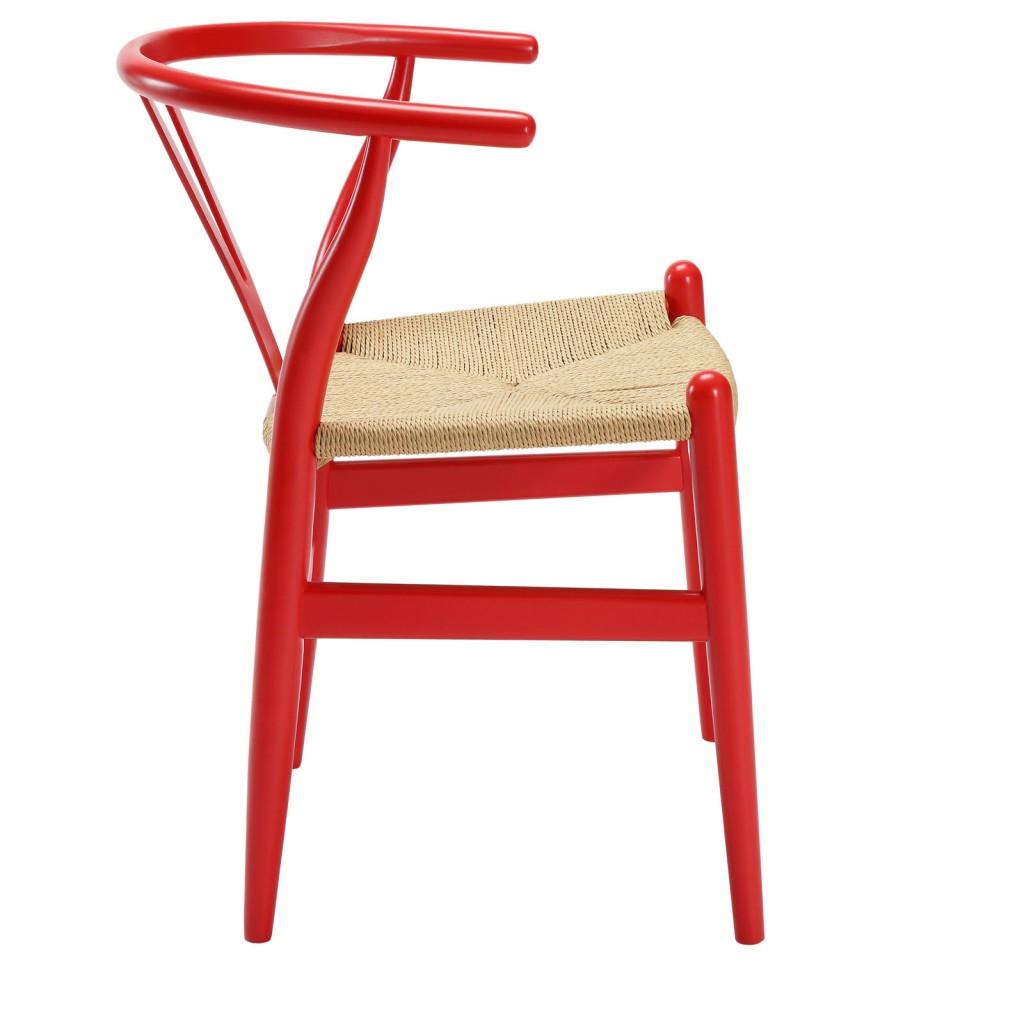 Red Hemp Chair 2