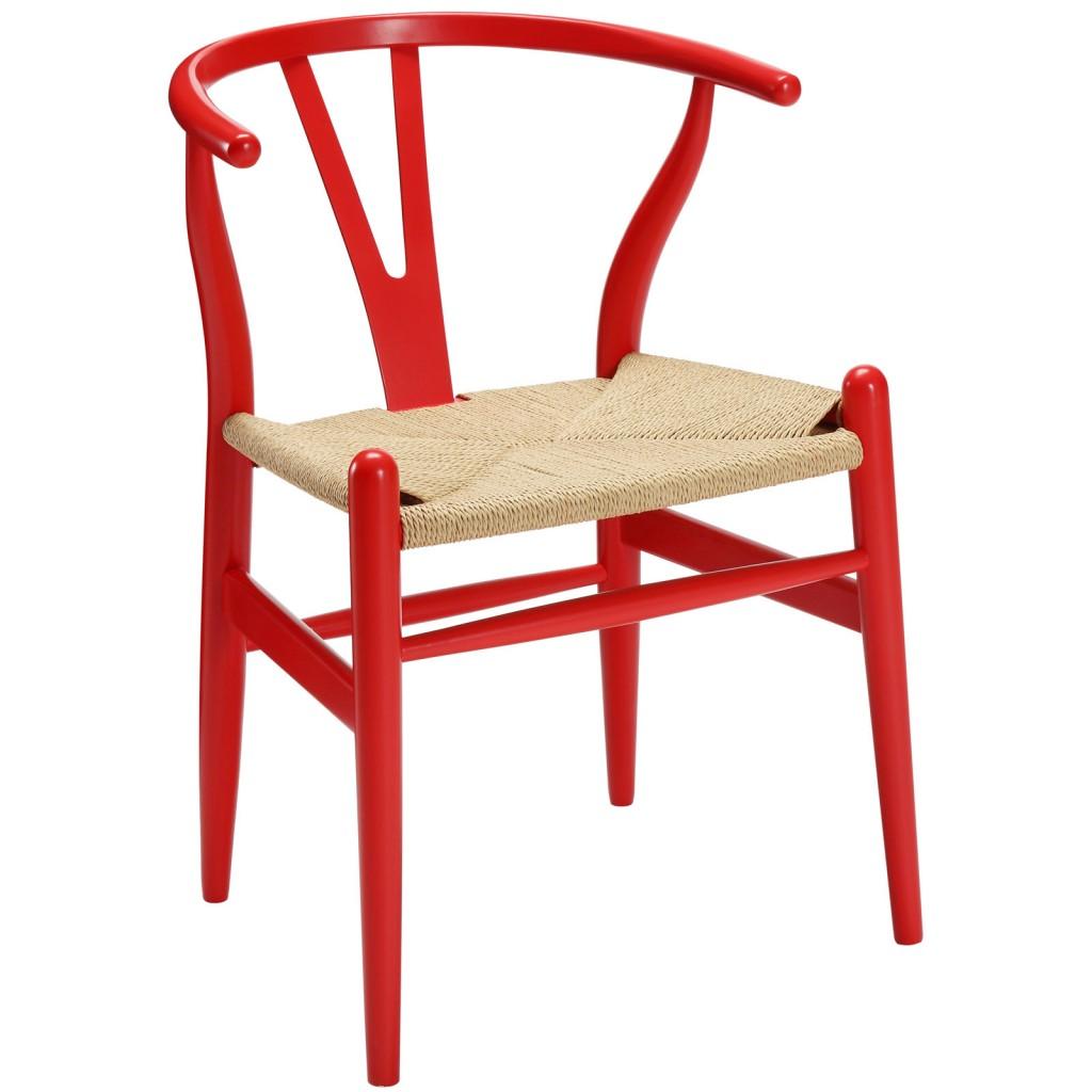 Red Hemp Chair 3