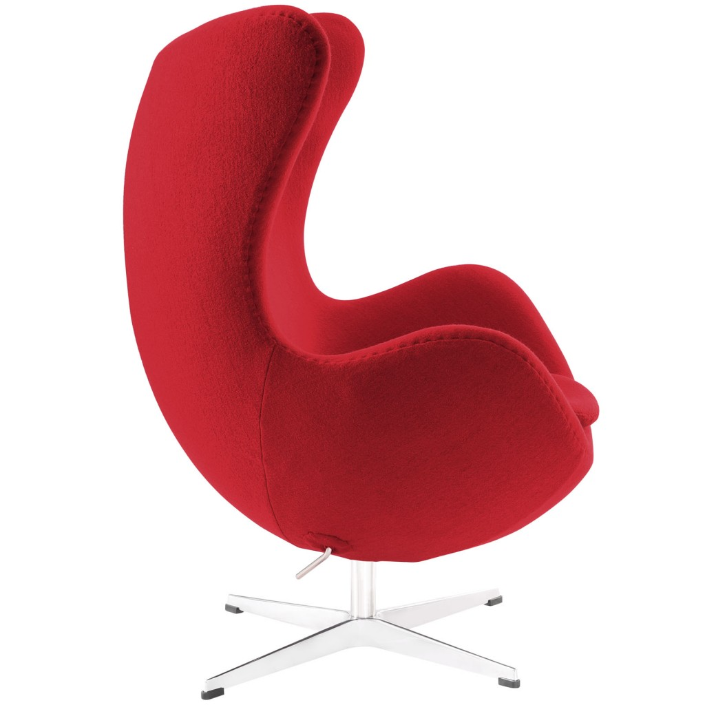 Red Magnum Wool Chair 1