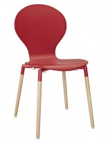 Red Ombre Chair 156x207