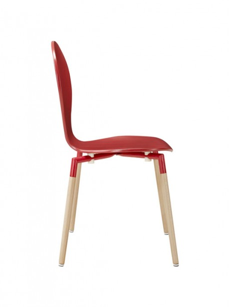 Red Ombre Wood Chair 2 461x614
