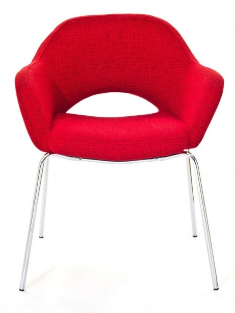 Red Solid Armchair 461x614