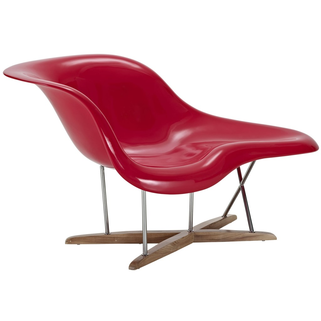Red Swan Chaise Chair 2