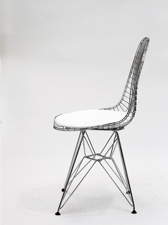 Relevant Wire Chair Brickell Collection Modern Furniture