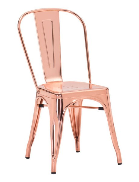 Rose Gold Cooper Chair 461x600