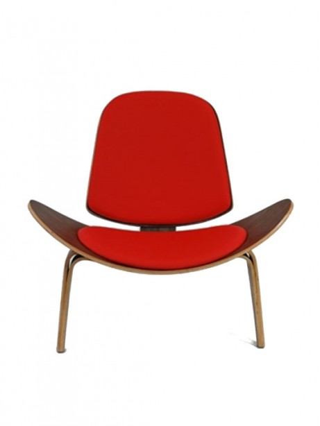 SLS Chair Red Leather Seating 461x614