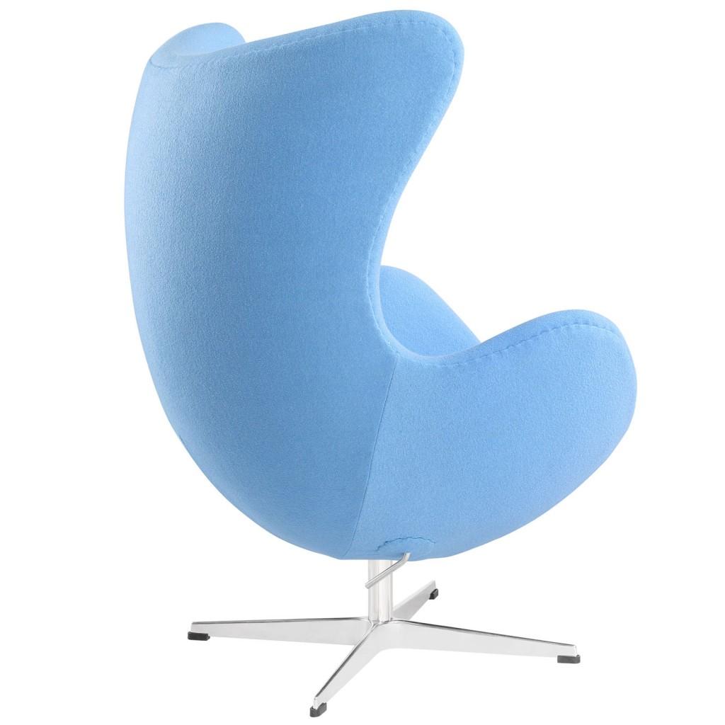 Sky Blue Magnum Wool Chair 2