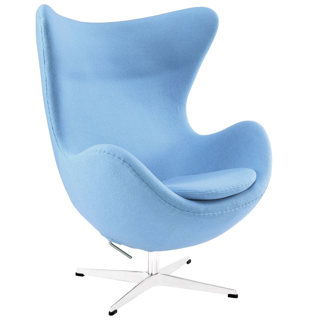 Sky Blue Magnum Wool Chair
