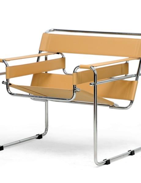 Tan Leather Strap Chair 1 461x598