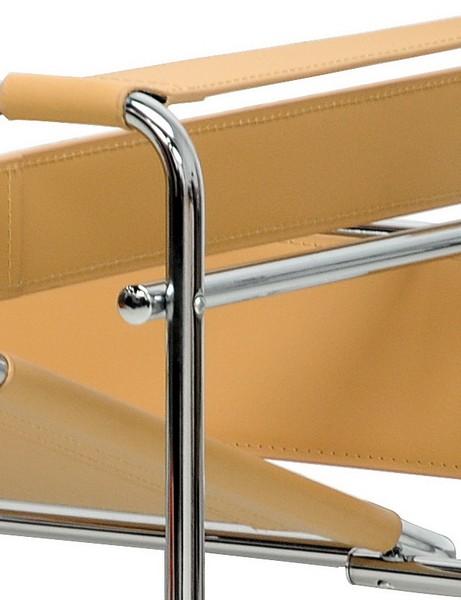 Tan Leather Strap Chair 3 461x600