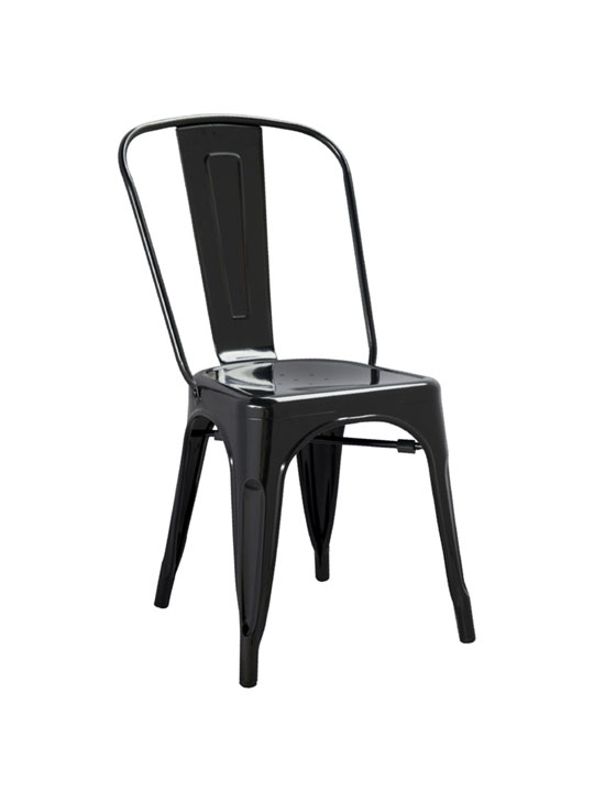 Tonic Metal Chair Black