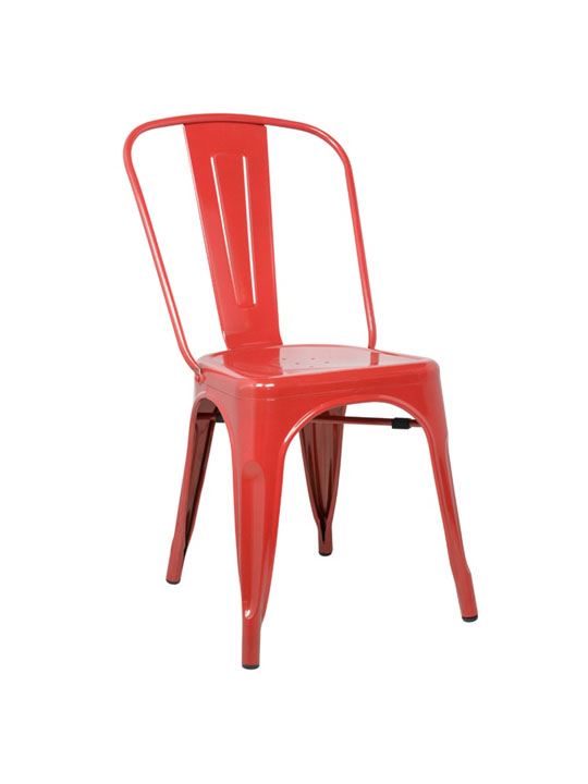 Tonic Metal Chair Red