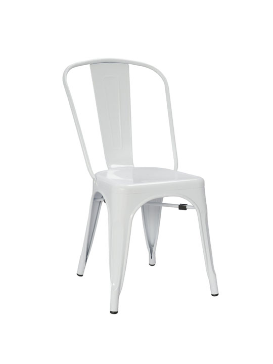Tonic Metal Chair White