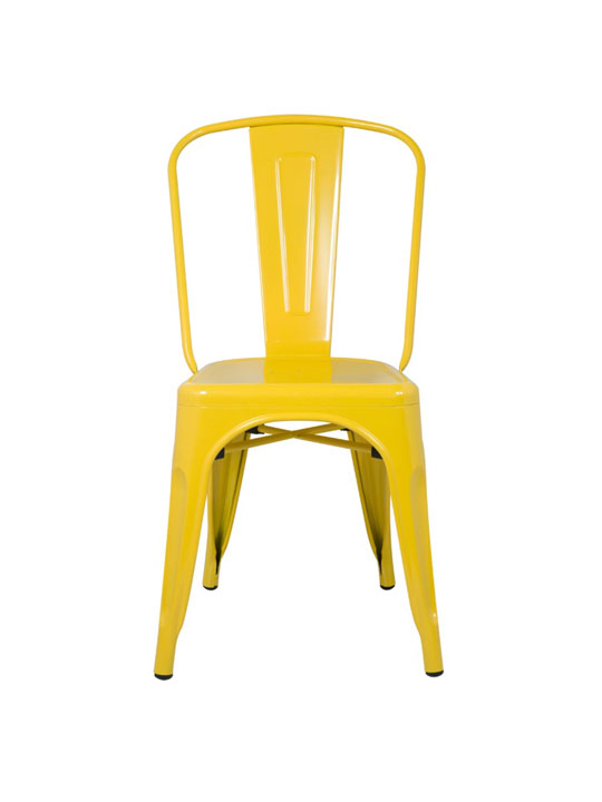 Tonic Metal Chair Yellow