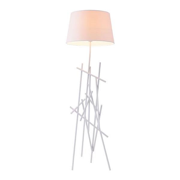 White Align Floor Lamp