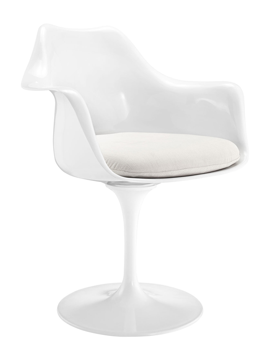 White Astro Armchair