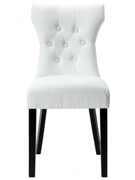 White Bally Dining Chair  461x614