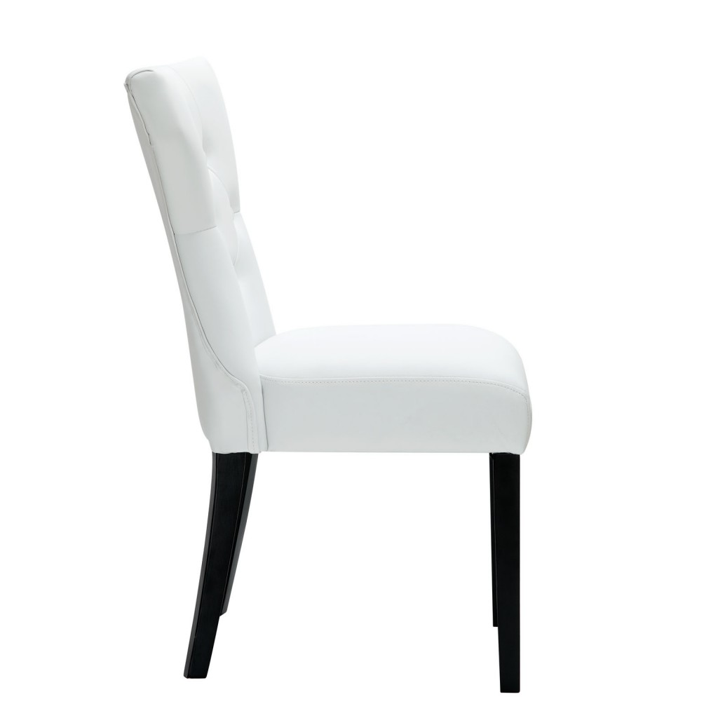 White Bally Dining Chair 2