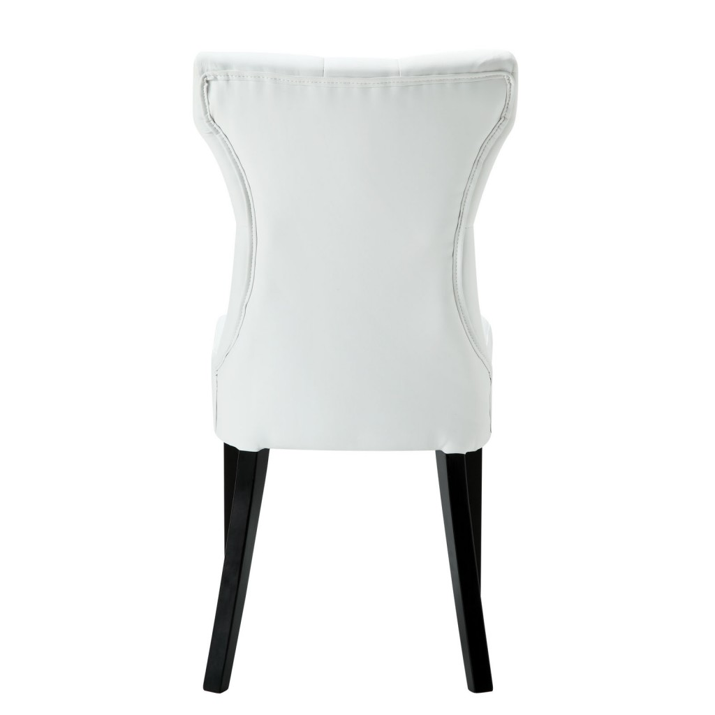 White Bally Dining Chair 3