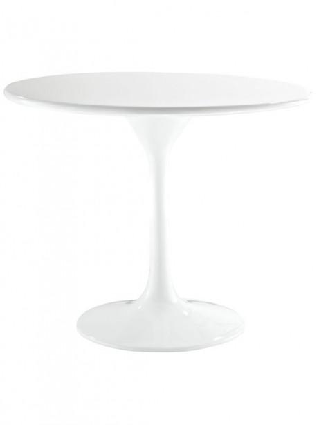 White Brilliant Side Table 461x614