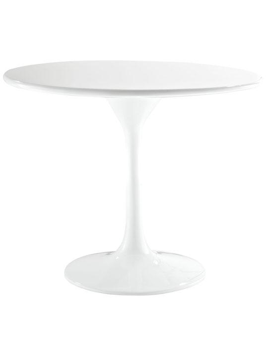 White Brilliant Side Table