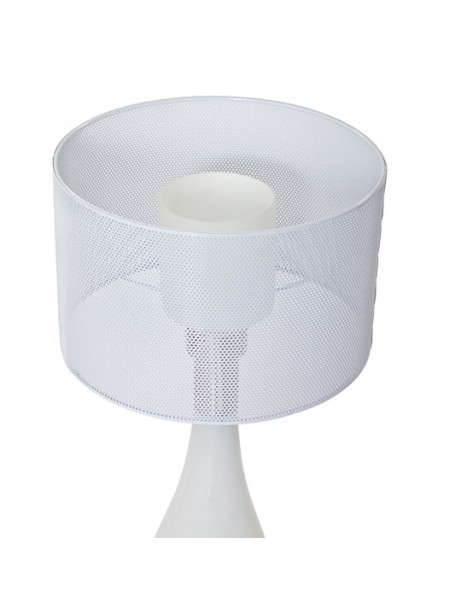 White Bubble Table Lamp 2 461x614