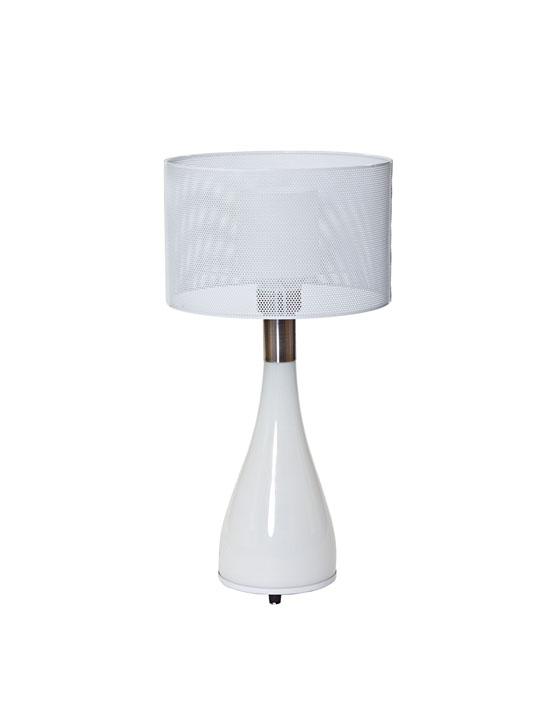 White Bubble Table Lamp