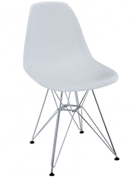 White Ceremony Wire Chair 461x614