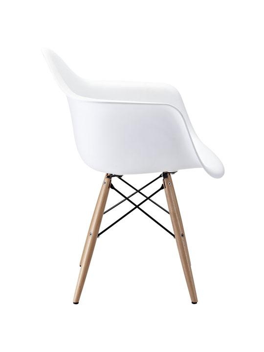White Ceremony Wood Armchair 2