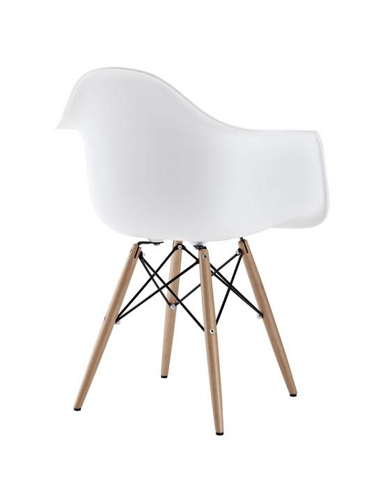 White Ceremony Wood Armchair 3