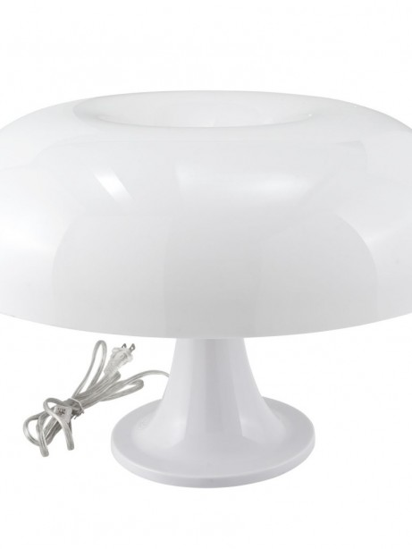 White Dome Table Lamp 461x614