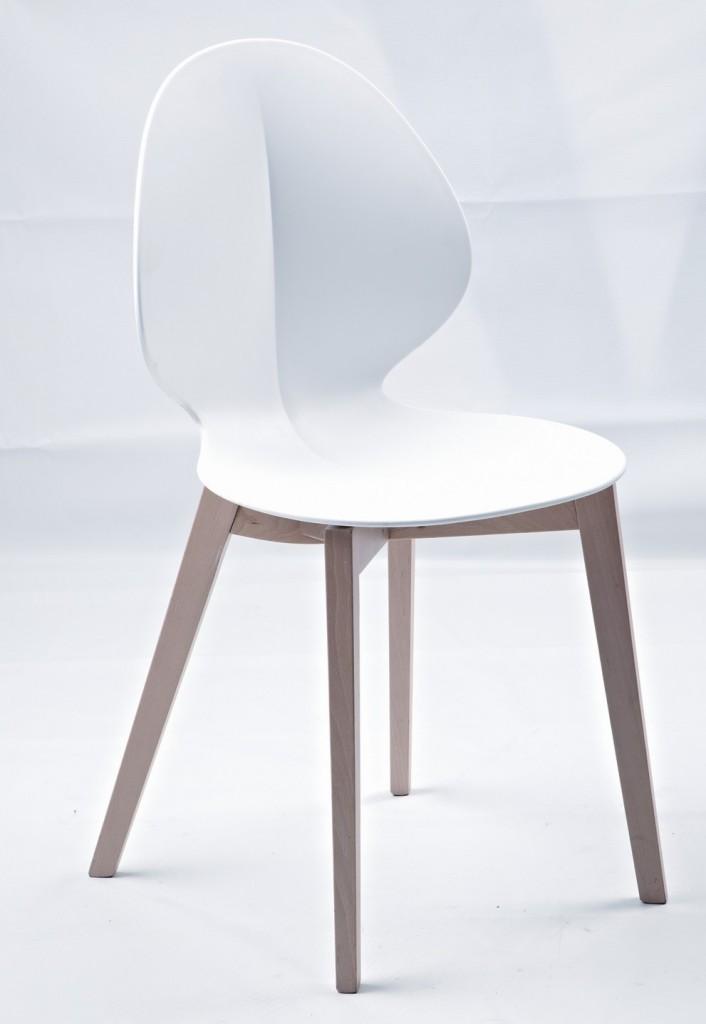 White Fold Chair 2