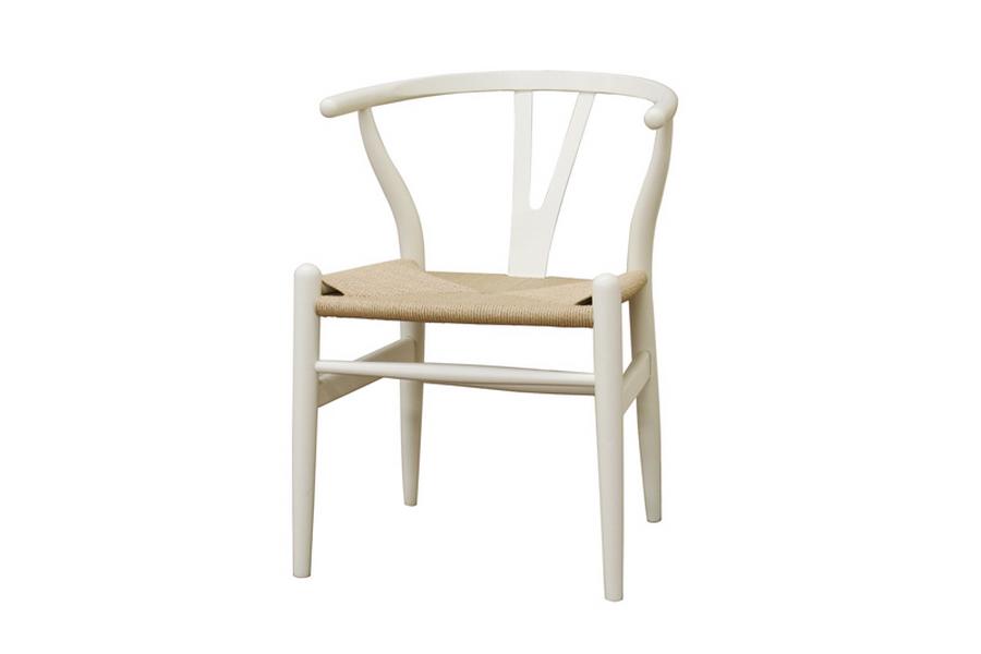White Hemp Chair 1