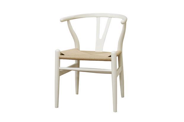 White Hemp Chair 2