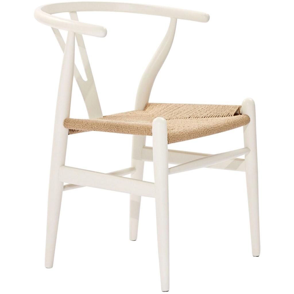White Hemp Chair 3