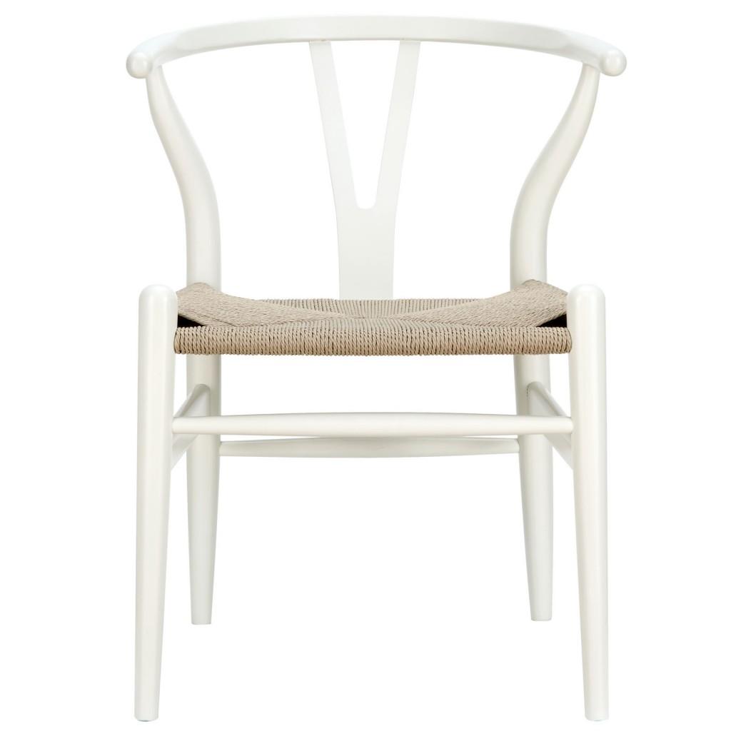 White Hemp Chair 6