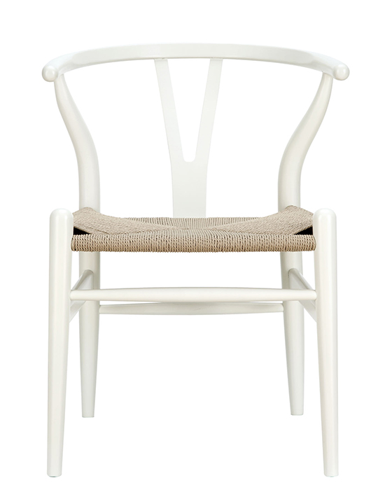 White Hemp Chair