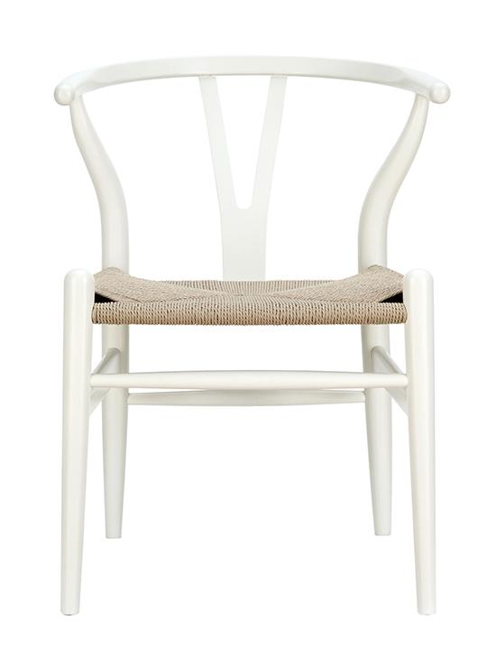 White Hemp Chair
