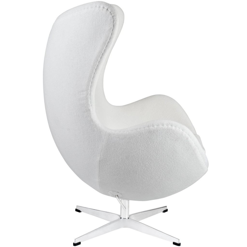 White Magnum Wool Chair 1