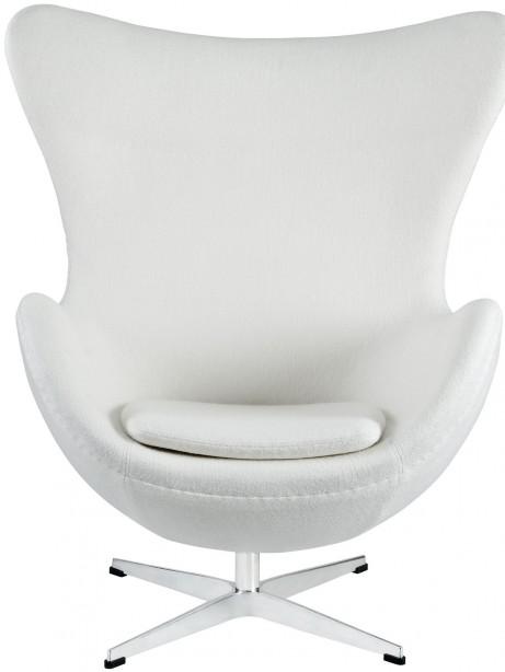White Magnum Wool Chair 2 461x614