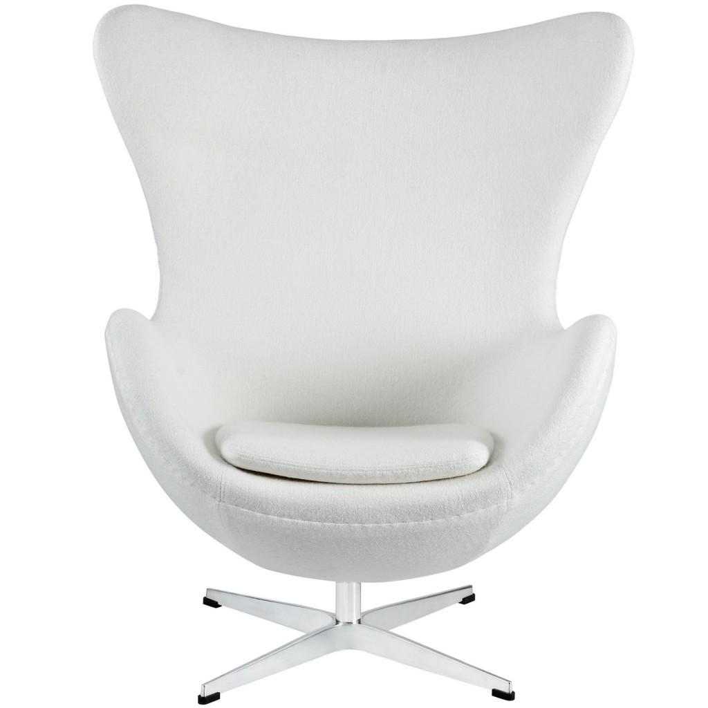 White Magnum Wool Chair 2