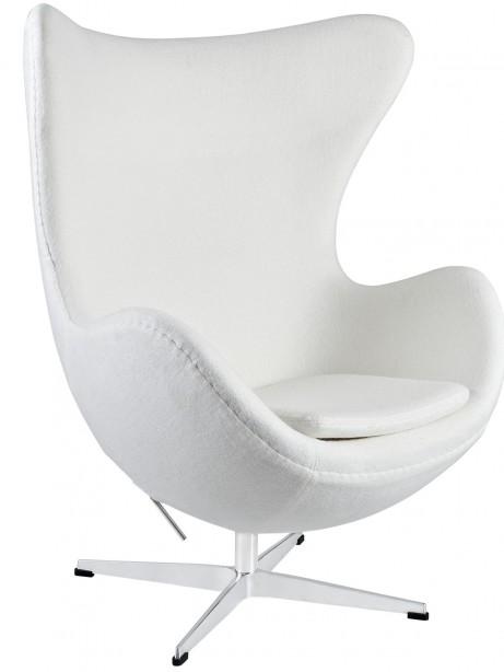 White Magnum Wool Chair 461x614
