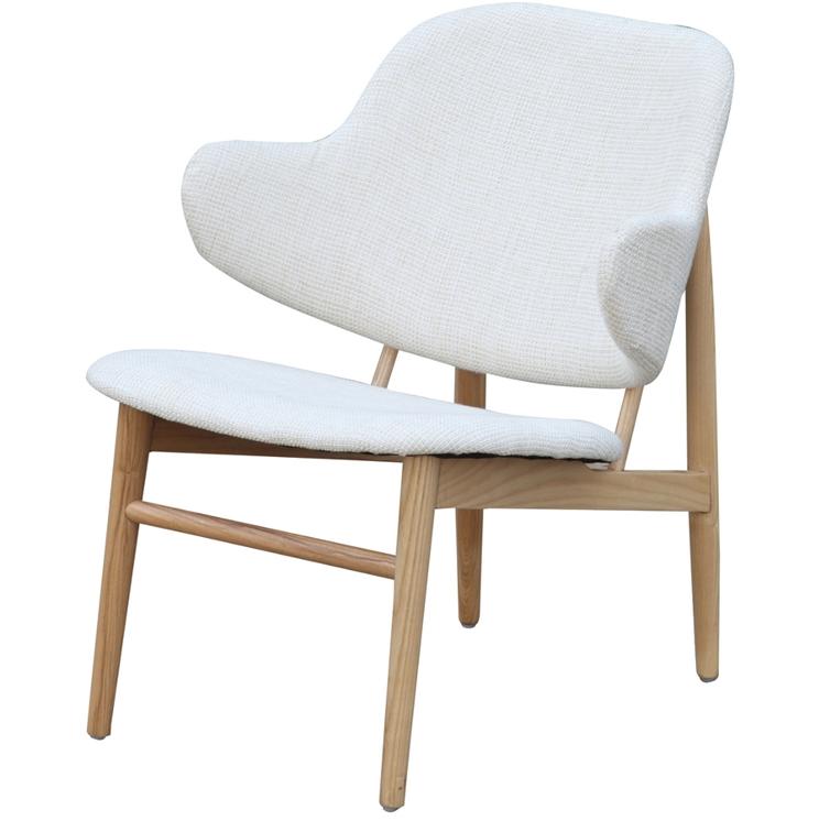 White Natural Wood Balman Chair 2