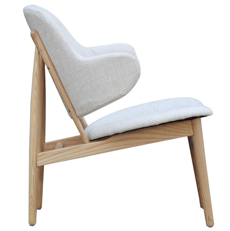 White Natural Wood Balman Chair 3