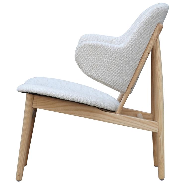 White Natural Wood Balman Chair 4